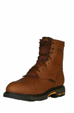 "Ariat Men's Work Hog 8"" Composite Toe Boots - Golden Grizzly"