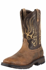 Ariat Men's Workhog Mesteno Work Boots - Earth/Coffee (Closeout)