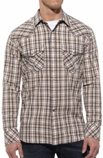 Ariat Mens Diamondback Long Sleeve Snap Western Shirt - Multi (Closeout)