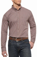 Ariat Mens Fernely Long Sleeve Performance Western Shirt - Multi (Closeout)
