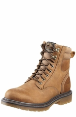 "Ariat Mens Gauge 8"" Lacer Work Boot - Aged Bark"