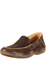 Ariat Mens Gleeson Moc - Weathered Wood (Closeout)