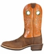 Ariat Mens Heritage Roughstock Cowboy Boots - Distressed Brown/Sunny Side