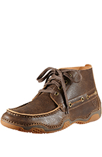 Ariat Mens Holbrook Suede Casual Moc - Weathered Wood