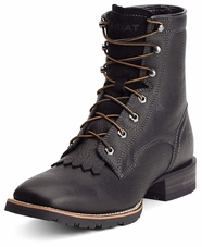 Ariat Mens Hybrid Lacer Boots - Black