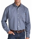Ariat Mens Long Sleeve Fire Resistant Plaid Work Shirt - Bold Blue