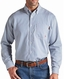 Ariat Mens Long Sleeve Fire Resistant Stripe Work Shirt - Bold Blue