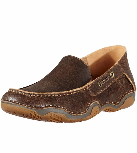 Ariat Mens Gleeson Moc - Weathered Wood