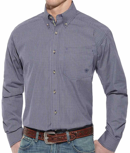 Ariat Mens Monte Long Sleeve Performance Button Down Western Shirt