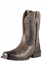 Ariat Mens Rambler Flint Cowboy Boots - Rustic Shadow