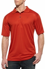 Ariat Mens Short Sleeve AC Polo Shirt - Spitfire (Closeout)