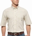 Ariat Mens Short Sleeve Maddox Plaid Button Down Western Shirt - Pistachio