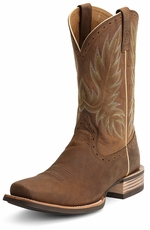Ariat® Mens Crossbred Boots - Distressed Brown
