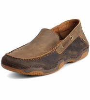 Ariat® Mens Gleeson Moc - Earth/Brown Bomber (Closeout)