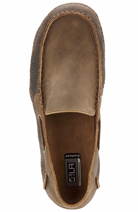 Ariat® Mens Gleeson Moc - Earth/Brown Bomber