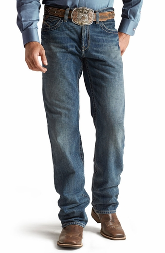 Ariat® Mens M2 Relaxed Boot Cut Jeans - Gulch
