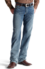 Ariat® Mens M3 Loose Fit Straight Leg Jeans - Scoundrel