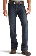 Ariat® Mens M4 Fire Resistant Low Rise Boot Cut Jeans - Shale