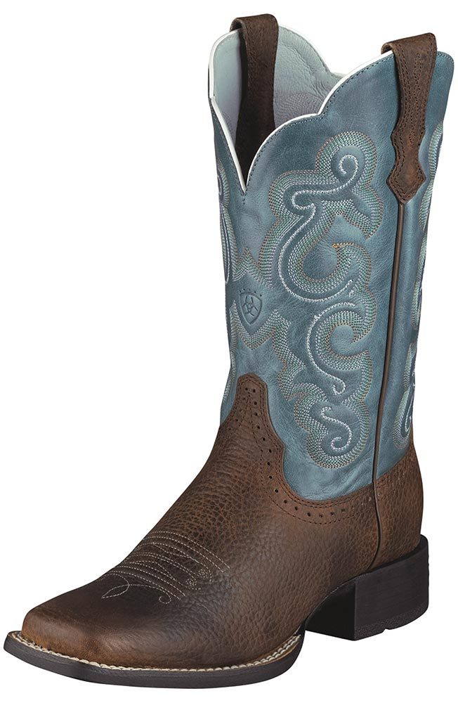 Simple Women39s Ariat 8quot Fatbaby Cowgirl Cowboy Boots  282507 Cowboy
