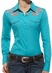 Ariat® Womens Baja Long Sleeve Shirt - Bluebird