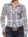 Ariat® Womens Long Sleeve Astoria Plaid Shirt - Multi (Closeout)