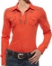 Ariat® Womens Skylar Long Sleeve Shirt - Berry