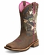 Ariat® Womens Unbridled Boots - Powder Brown/Camo (Closeout)
