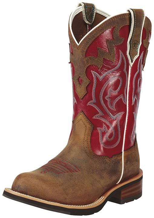 Womens Short Cowboy Boots - Cr Boot