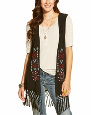 Ariat Women's Bacall Vest - Black (Closeout)