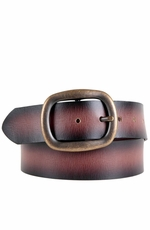 Ariat Women's Brenda Collection Belt- Burnished Brown (Closeout)
