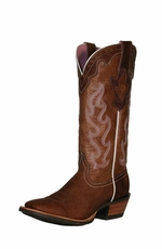 Ariat Women's Crossfire Caliente Boots - Weathered Brown