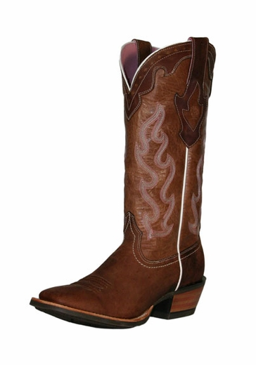 Ariat Women's Crossfire Caliente Boots - Weathered Brown (Closeout)