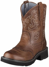 Ariat Women's Fatbaby Boots - Russet Rebel