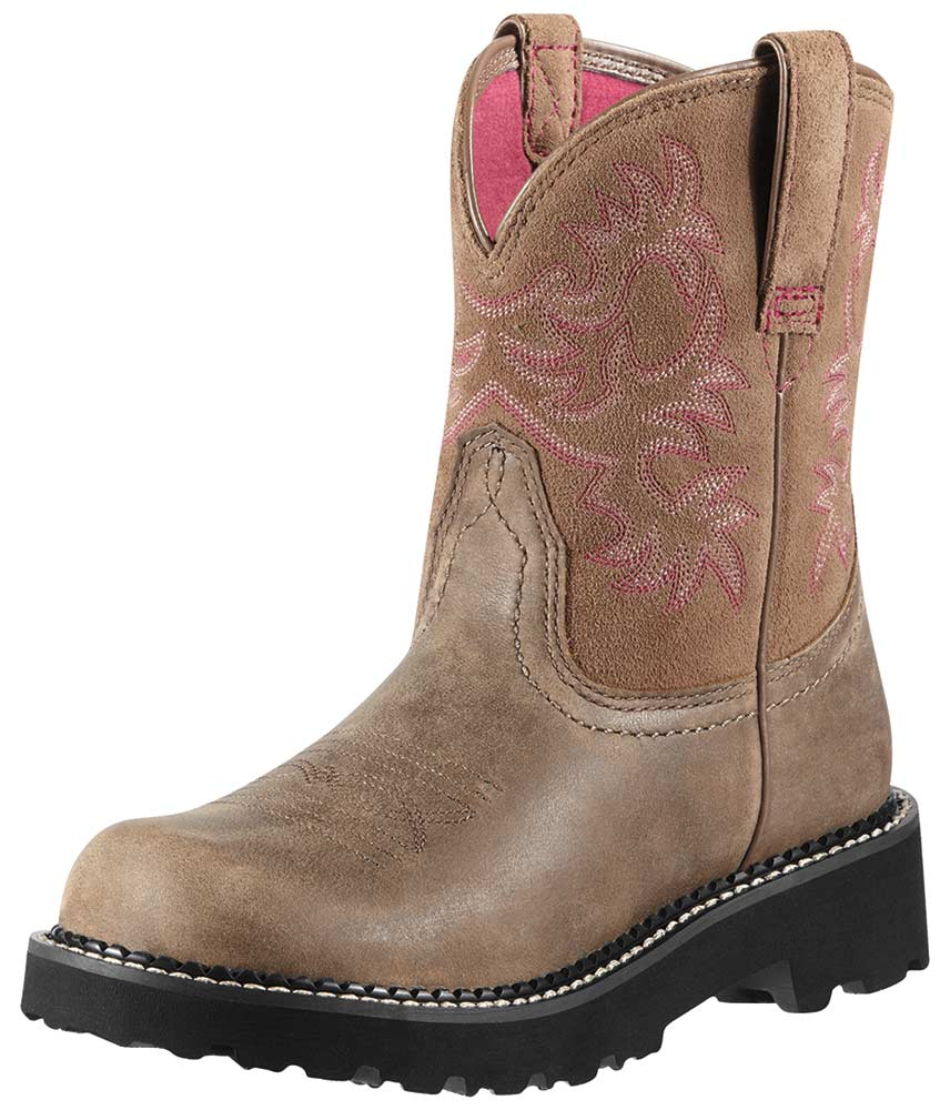 Ariat Women's Fatbaby Cowboy Boots - Brown Bomber (Closeout)