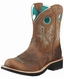 Ariat Women's Fatbaby Cowgirl Boots - Powder Brown/ Tan (Closeout)