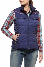 Ariat Women's Foothill Vest - Navy (Closeout)