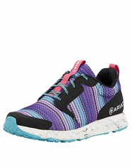 Ariat Women's Fuze Shoe - Purple Serape