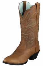 Ariat Women's Heritage Western R Toe Boots - Timber