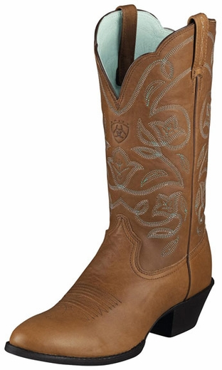 Ariat Women's Heritage Western R Toe Boots - Timber (Closeout)