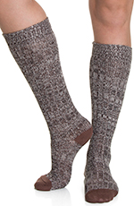 Ariat Women's Knee Socks - Black/Brown