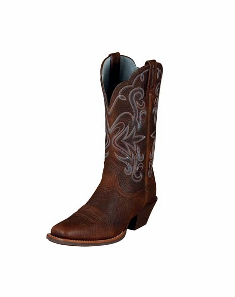 Ariat Women's Legend Boots - Brown-Oiled Rowdy