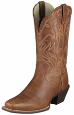 Ariat Women's Legend Cowboy Boots - Russet Rebel