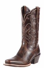Ariat Women's Legend Cowgirl Boots - Chocolate Chip