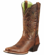 Ariat Women's Legend Cowgirl Boots - Sassy Brown (Closeout)