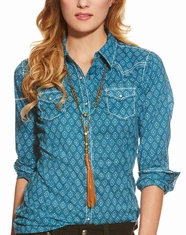 Ariat Women's Lina Snap Shirt - Seaport
