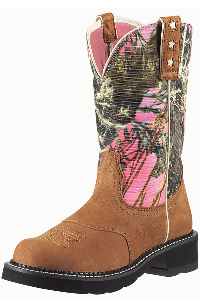 Ariat Women's ProBaby Boots - Dry Well Tan/ True Timber (Closeout)