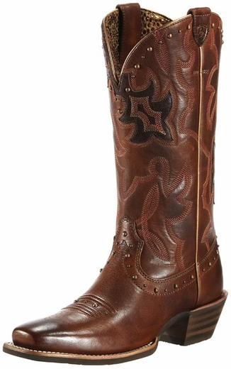 Ariat Women's Runaway Vintage Boots - Vintage Caramel/Rich Chocolate (Closeout)