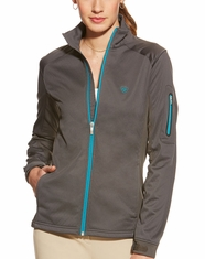 Ariat Women's Saga Full Zip Jacket - Lava Beach
