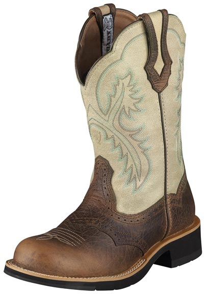 Ariat Women's Showbaby Cowboy Boots - Earth (Closeout)