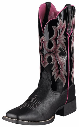 Ariat Women's Tombstone Cowboy Boots - Black (Closeout)